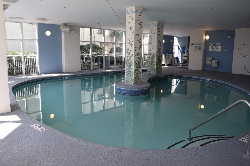 Ocean Blue Resort 803 Indoor Pool