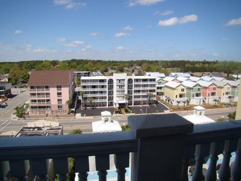 Ocean Blue 803 Street Side Balcony