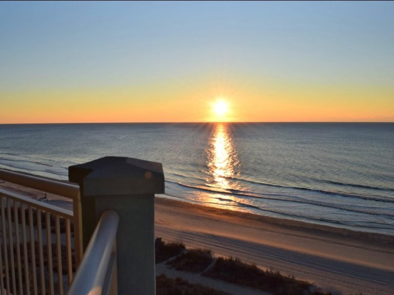 Myrtle Beach Oceanfront Condo Sunrise