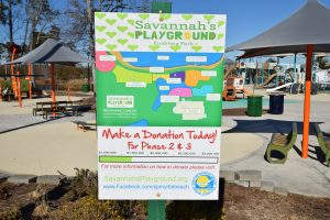 Savannah's Playground Donations