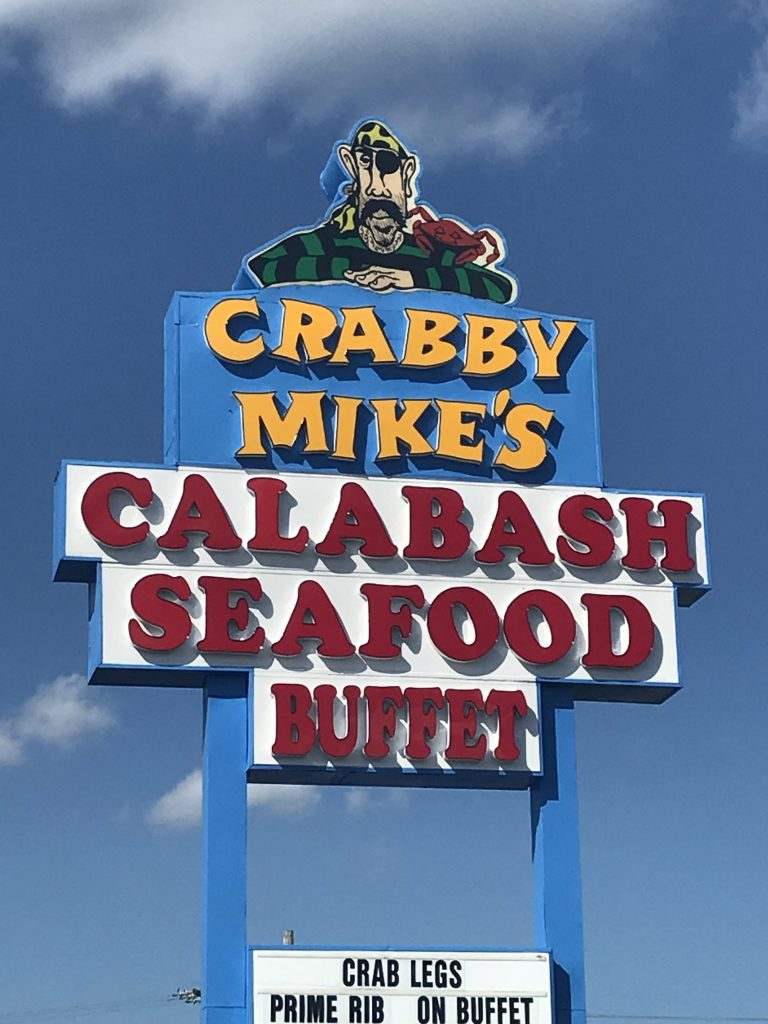 Crabby Mike S Calabash Seafood Buffet Ocean Blue Resort Myrtle Beach Vacation Rentals