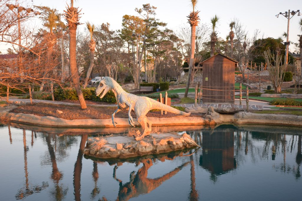 Jurassic Miniature Golf