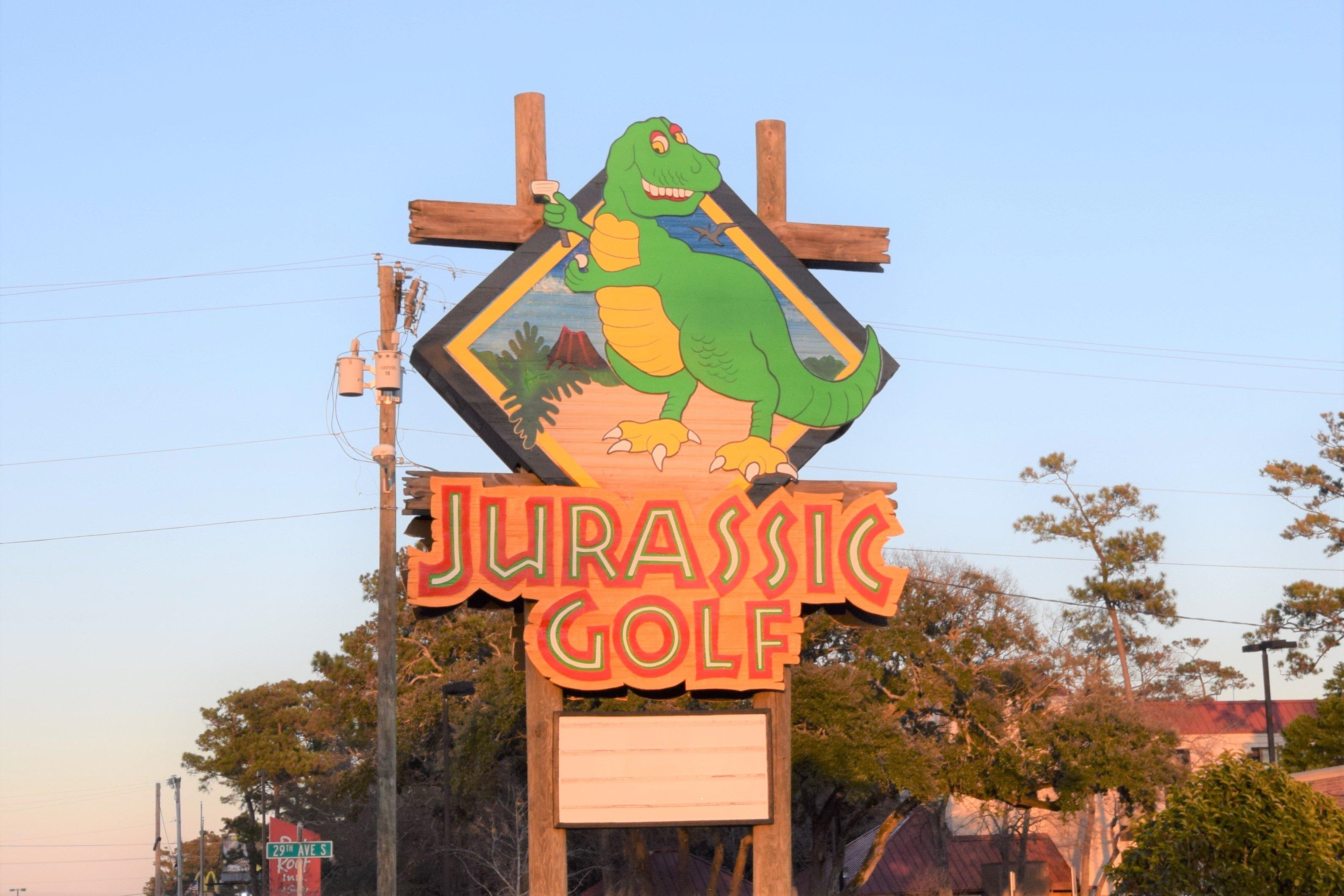 Jurassic Golf Myrtle Beach
