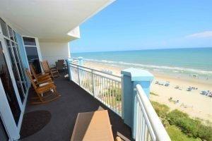 Ocean Blue 803 Balcony North