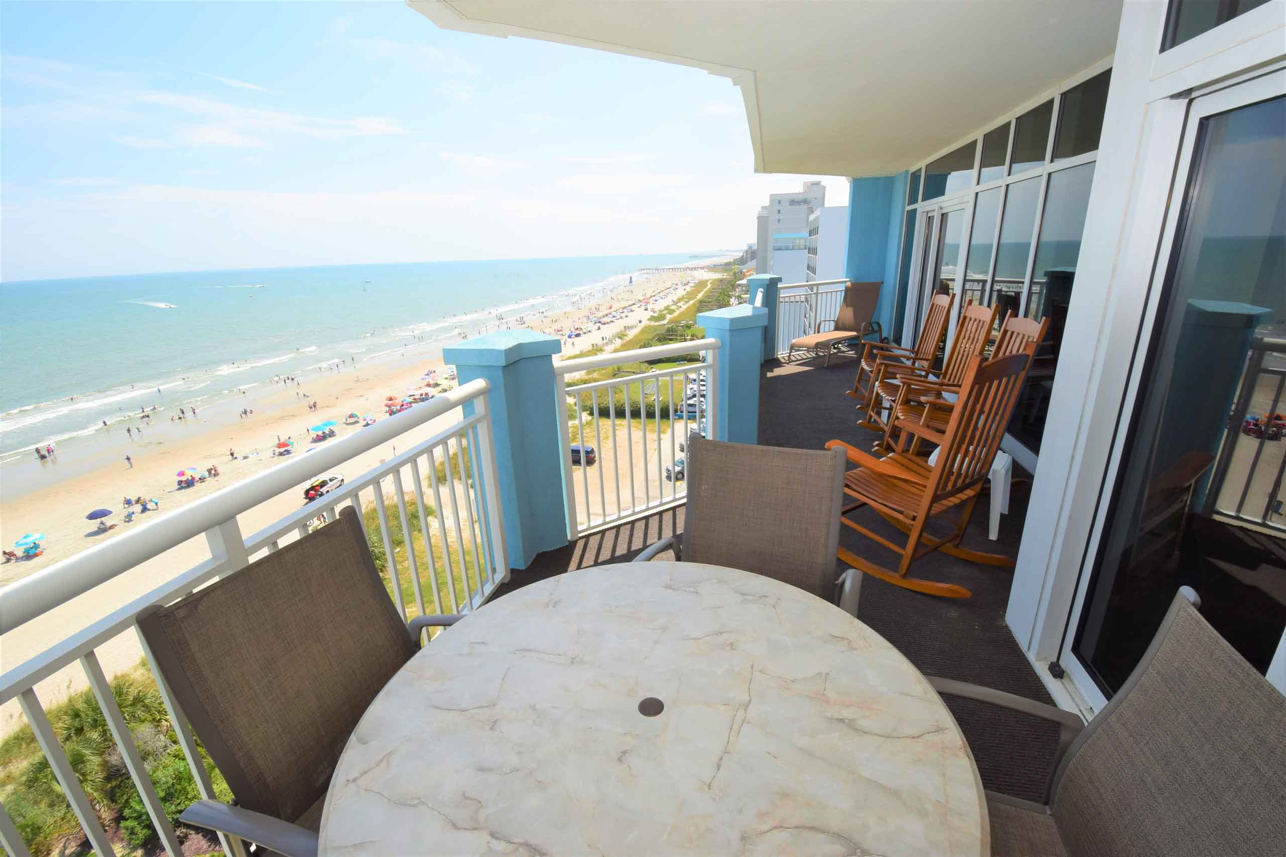 Ocean Blue 803 Balconsy South