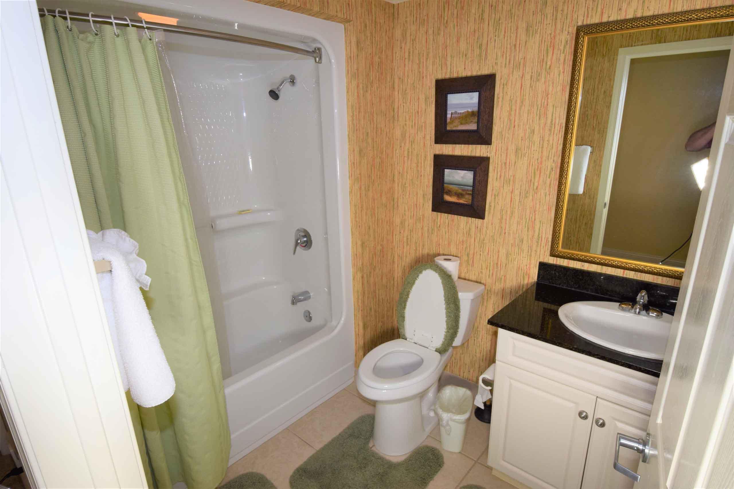 Ocean Blue 803 Common Bathroom