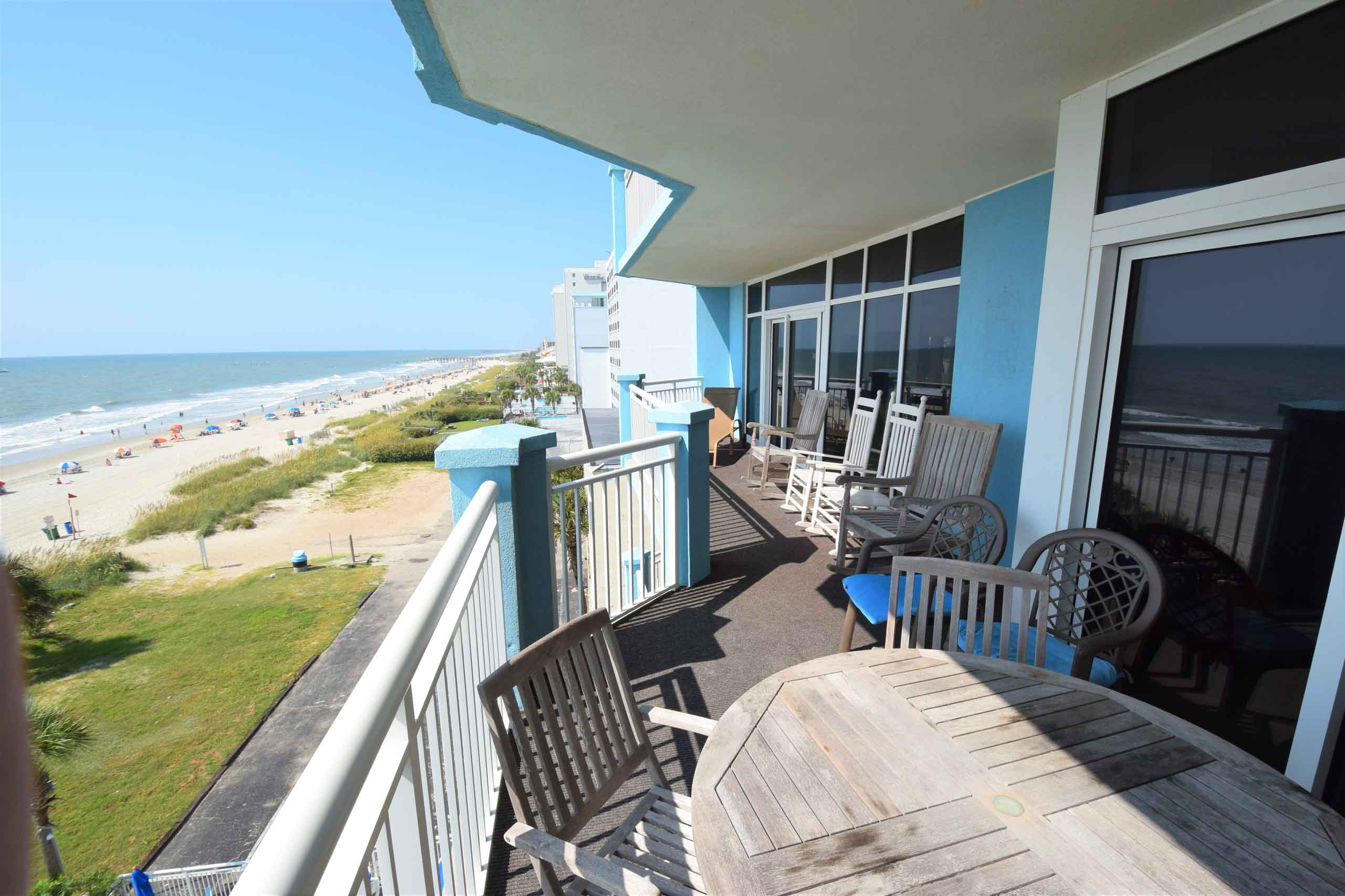 Ocean Blue 503 Balcony South2