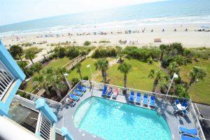Ocean Blue 503 Pool View
