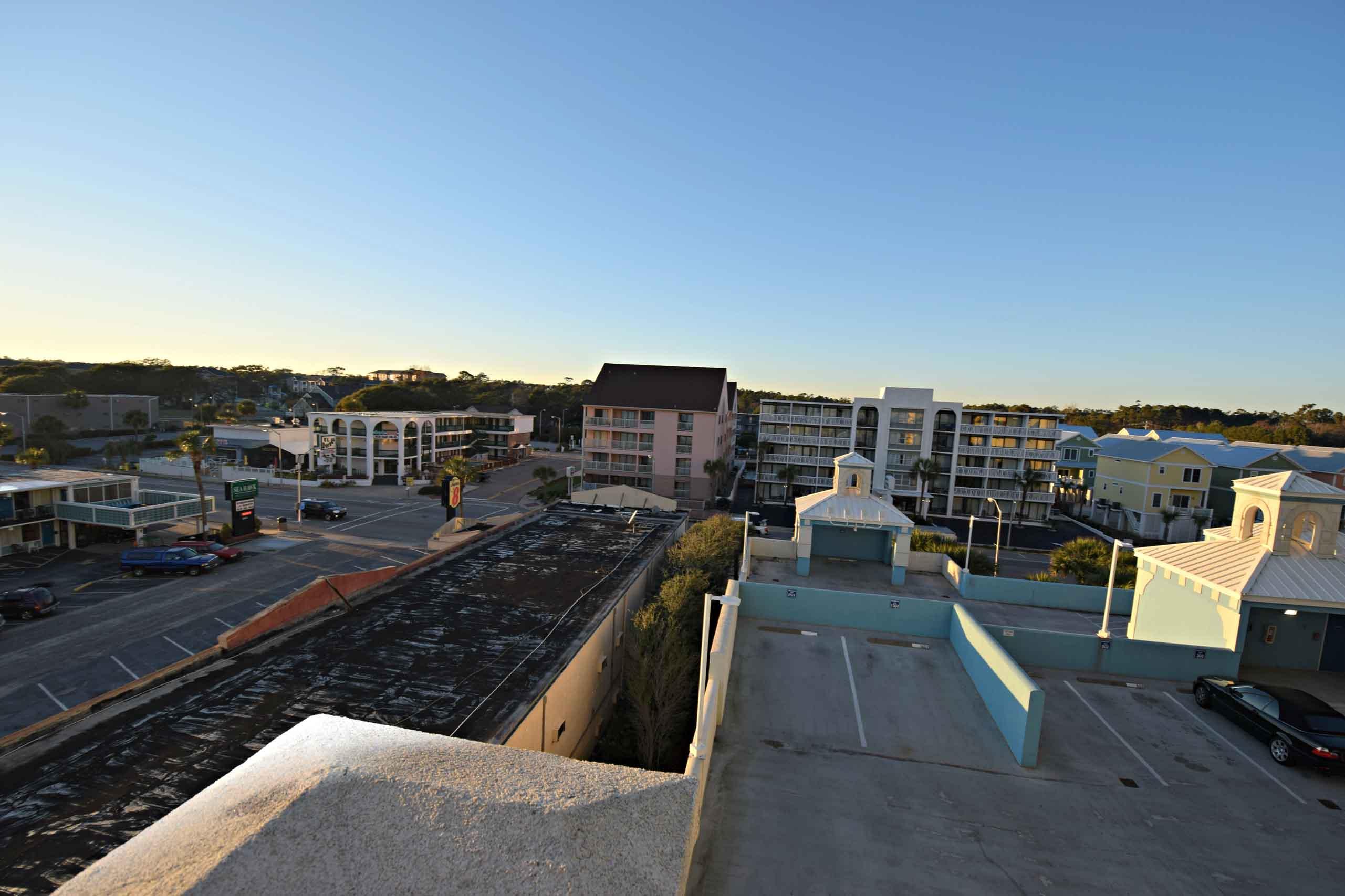 Ocean Blue 503 Street Balcony
