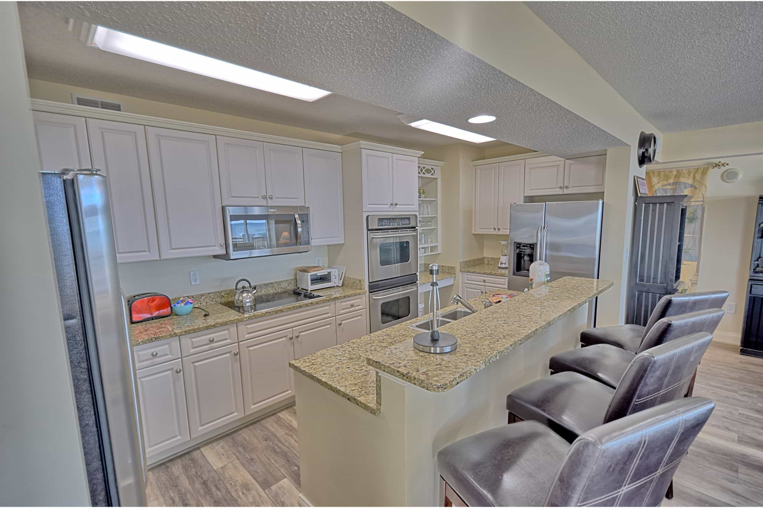 Ocean-Blue-Resort-503-Myrtle-Beach-Kitchen-North