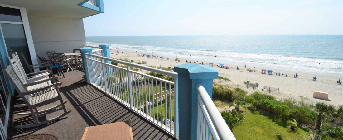 Ocean Blue 503 Balcony North